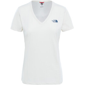 The North Face Simple Dom - T-shirt manches courtes Femme - blanc